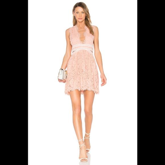 NBD Dresses & Skirts - NBD Phoenix Dress in Blush